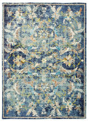 Lr Resources Gala 81273 Navy Multi Area Rug