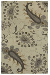 Lr Resources Glamour 06010 Light Gray Area Rug