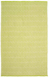 Lr Resources Inside-Out 81225 Parrot Green Area Rug