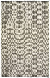 Lr Resources Inside-Out 81227 Gray - White Area Rug