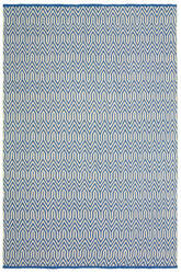 Lr Resources Inside-Out 81228 Blue Area Rug