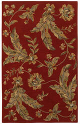 Lr Resources Integrity 12017 Red Area Rug