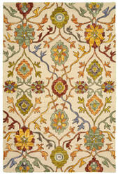 Lr Resources Lavish 54074 Light Beige Area Rug