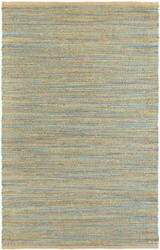 Lr Resources Natural Fiber 03313 Blue - Green Area Rug