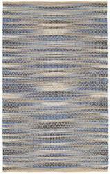 Lr Resources Natural Fiber 03330 Blue Area Rug