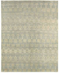 Lr Resources Oushak 4427 Grey Blue Area Rug