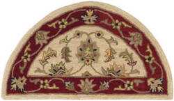 Lr Resources Shapes 10577 Ivory - Red Area Rug