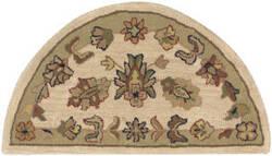 Lr Resources Shapes 10579 Ivory - Light Green Area Rug