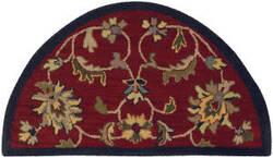 Lr Resources Shapes 10582 Red - Navy Area Rug