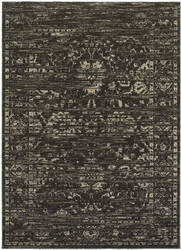 Lr Resources Soft Shag 81166 Brown - Dark Beige Area Rug