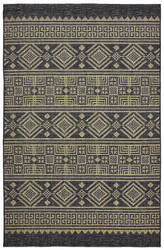 Lr Resources Sunshower 81241 Black - Brown Area Rug