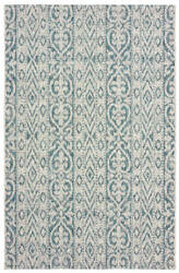 Lr Resources Sunshower 81242 Blue - Green Area Rug