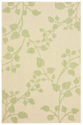 Lr Resources Sunshower 81243 Green - Beige Area Rug