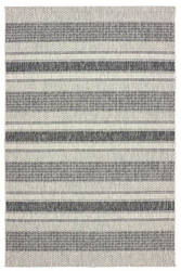 Lr Resources Sunshower 81246 Gray - Black Area Rug