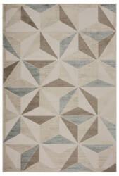 Lr Resources Tranquility 81362 Fungi - Light Blue Area Rug
