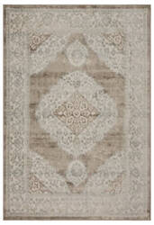 Lr Resources Tranquility 81364 Moonrock - Light Blue Area Rug