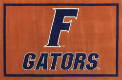 Luxury Sports Rugs Tufted University of Florida Orange