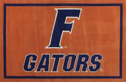 Luxury Sports Rugs Team University of Florida Orange Area Rug
