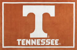 Luxury Sports Rugs Tufted University of Tennessee Orange