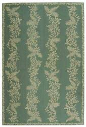 Martha Stewart by Safavieh MSR2321A TARRAGON / GREEN Area Rug