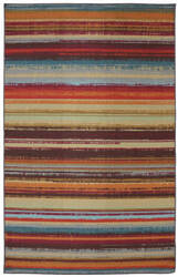 Mohawk Home Outdoor/Patio Avenue Stripe Multi Area Rug