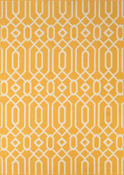 Momeni Baja Baj-3 Yellow Area Rug