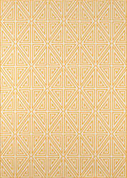 Momeni Baja Baj-4 Yellow Area Rug