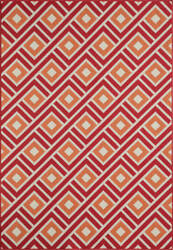 Momeni Baja Baj-7 Red Area Rug
