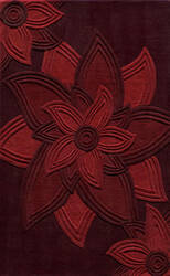 Momeni Delhi Dl-40 Red Area Rug