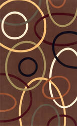 Momeni Elements El-09 Brown Area Rug