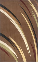 Momeni Elements EL-18 Brown Area Rug
