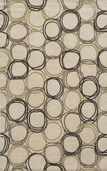 Momeni Elements El-34 Ivory Area Rug