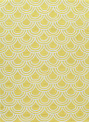 Momeni Geo Geo15 Yellow Area Rug