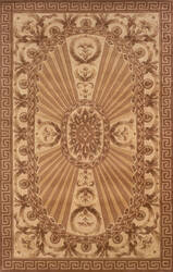 Momeni Harmony Ha-15 Light Brown Area Rug