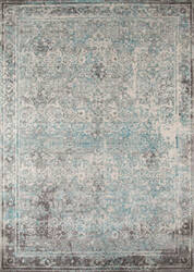 Momeni Luxe Lx-16 Turquoise Area Rug
