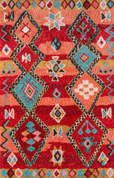 Momeni Margaux Mgx-1 Red Area Rug