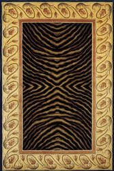 Momeni New Wave Nw-09 Black Area Rug