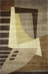 Momeni New Wave Nw-22 Light Brown Area Rug