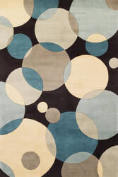 Momeni New Wave Nw-37 Teal Area Rug