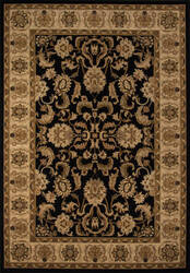 Momeni Royal Ry-04 Black Area Rug