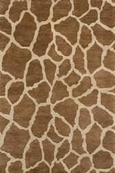Rugstudio Sample Sale 46097R Brown Area Rug
