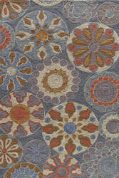 Momeni Summit Sum-3 Blue Area Rug