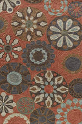 Momeni Summit Sum-3 Terracotta Area Rug