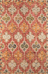 Momeni Tangier Tan17 Red Area Rug