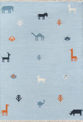Momeni Thompson by Erin Gates Porter Tho-2 Blue Area Rug
