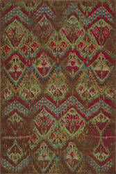 Rugstudio Sample Sale 75114R Raspberry Area Rug
