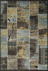 Momeni Vogue Vg-01 Blue Area Rug