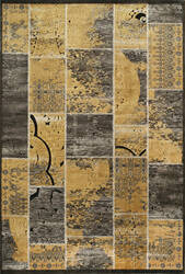 Momeni Vogue Vg-01 Gold Area Rug