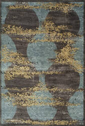 Momeni Vogue Vg-02 Blue Area Rug