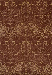 Momeni Arabesque Aq-02 Copper Area Rug